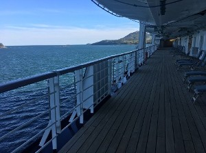 Side of deck